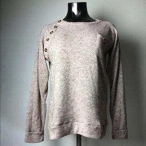 WSGYJ Women's Beige Sweater